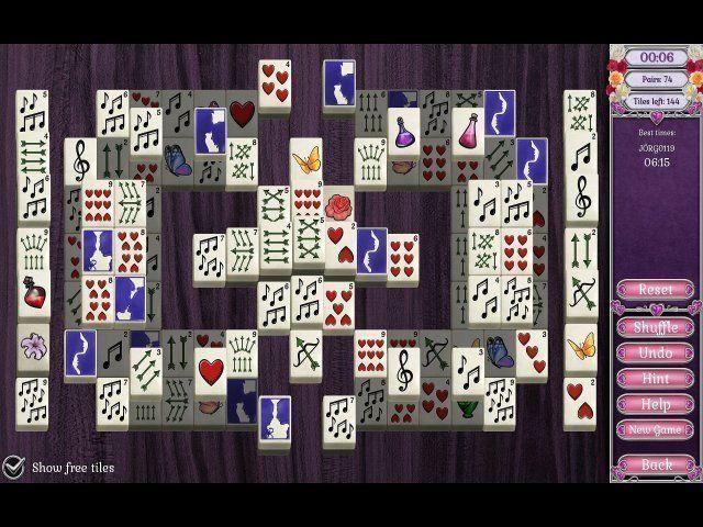 Screenshot  «Jewel Match Solitaire: L'Amour» № 5