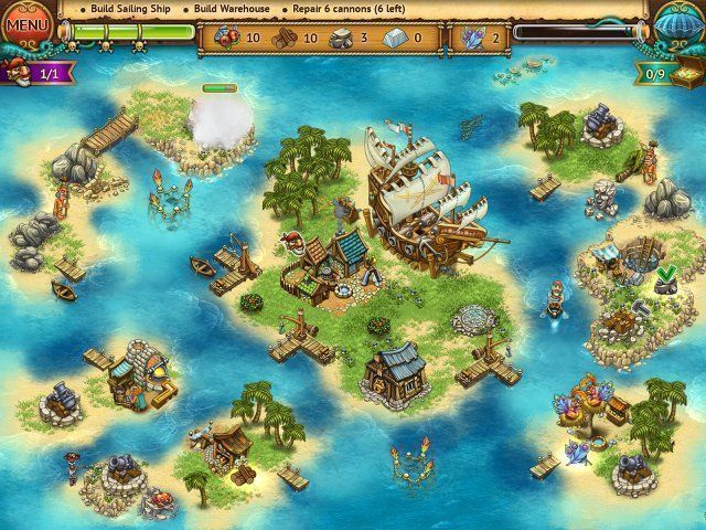 Screenshot  «Pirate Chronicles» № 1