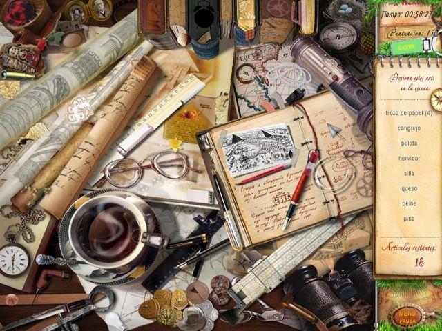 La Atlántida. Misterios de inventores antiguos en Español game