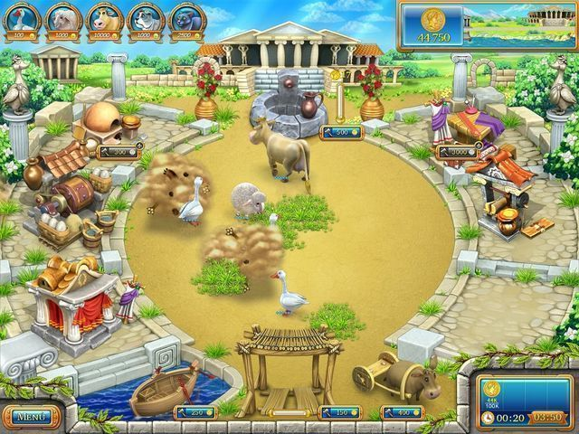 Farm Frenzy: Ancient Rome download free en Español