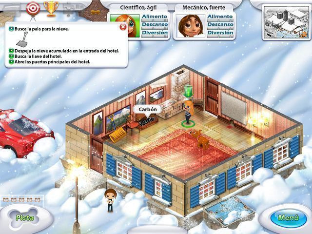 Great Adventures: Perdidos en las montañas en Español game