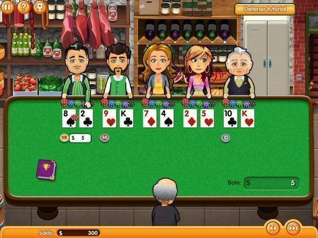 Hometown Poker Hero. Premium Edition en Español game
