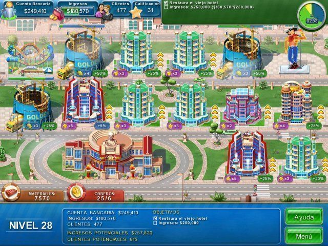 Hotel Mogul: Las Vegas en Español game