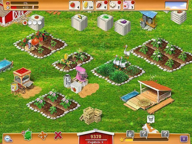 My Farm Life en Español game