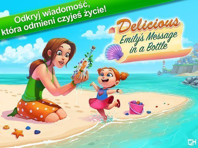 Bezpłatne pobieranie Delicious – Emily's Message in a Bottle. Collector's Edition