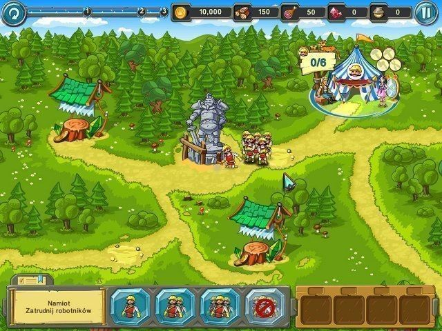 Ucieczka z królestwa Gra Bezpłatne