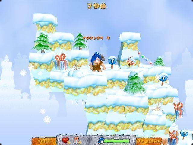 تحميل لعبة الهداية والحصول على الكنز لعبة احلى من ماريو carl-the-caveman-chr