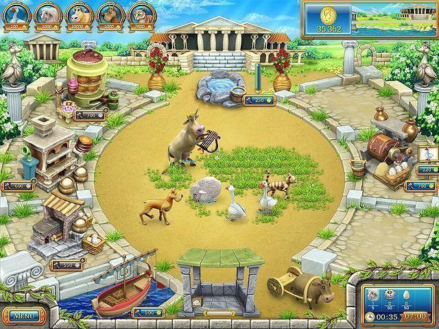 Odlotowa farma: Starożytny Rzym